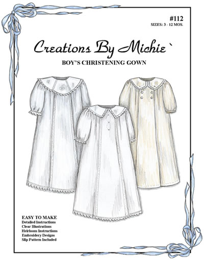 Boy's Christening Gown