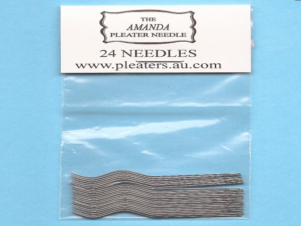 amanda jane pleater needles