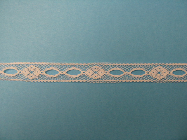 White Beaded Insertion - 1/2""