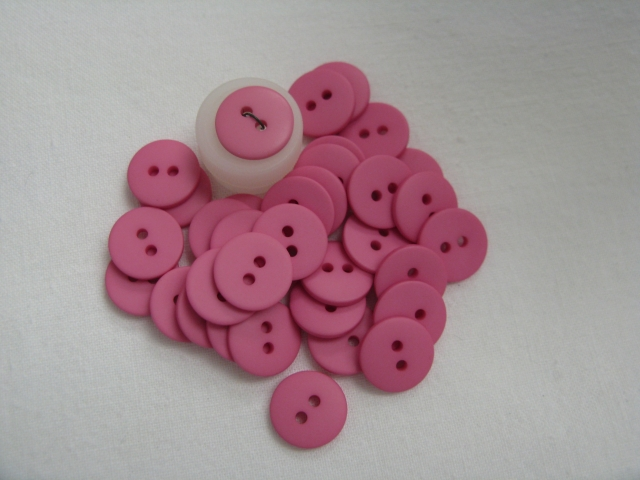 2 Hole Bubble Gum Pink