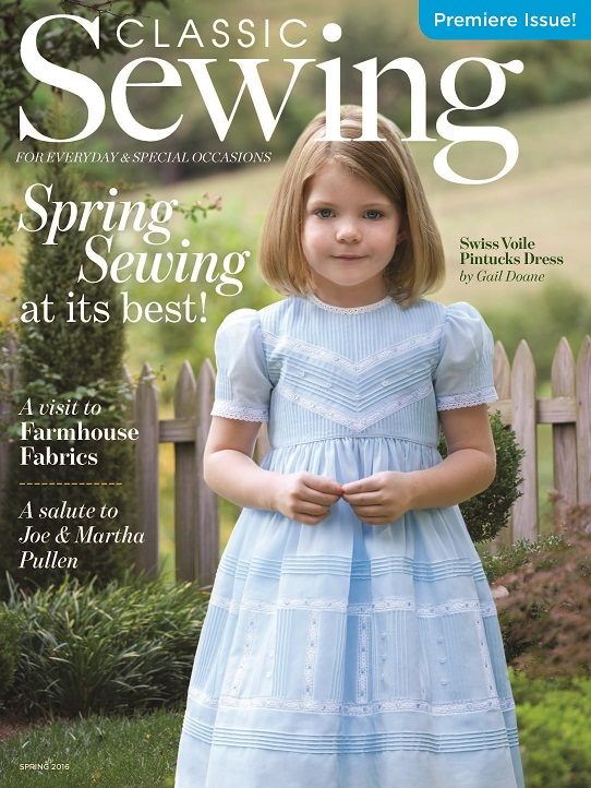 Classic Sewing - PREMIERE ISSUE!