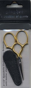 "Gingher 3 1/2"" Embroidery Scissors"