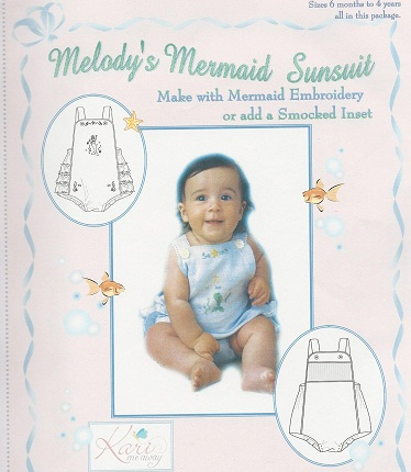 Melody's Mermaid Sunsuit