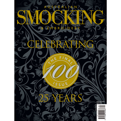 Australian Smocking & Embroidery Issue #100