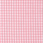 "Peachy-Pink Gingham - 60"" wide"