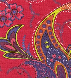 "Paisley in Pink - 54"" width"