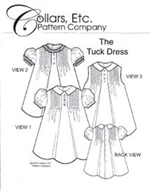 The Tuck Dress - 3/4