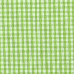 "Green Gingham 60"" width - 1/16"""
