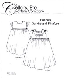 Hanna's Sundress & Pinafore - Size 1-8
